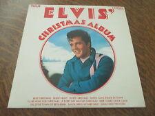 33 tours ELVIS PRESLEY ELVIS' christmas album blue christmas