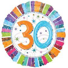 Radiant anniversaire 30 BALLON plat Célébrations Décoration de fête