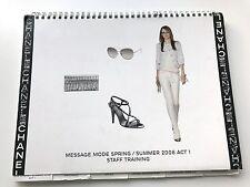 CHANEL SPRING SUMMER 2008 ACT 1 MESSAGE MODE STAFF BOOK CATALOG VIP PRESS RARE