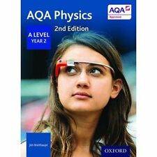 AQA PHYSICS A Level Year 2 2nd Ed STUDENT'S BOOK (New Bk)1st class Postage