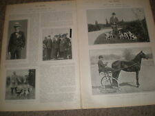 Photo article New York rich Vanderbilt Caswell Payne and Harriman 1903 ref Z