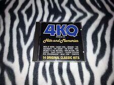 4KQ Hits and Memories Brisbane Radio 693 CD Disctronics Australia 1991 Rare