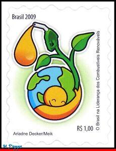 3065 BRAZIL 2009 RENEWABLE FUELS, ENVIRONMENT, SCIENCE, RHM C-2772, MNH