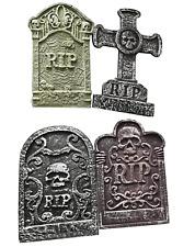 4 X 55cm Holocausto cementerio lápidas lápidas Decoraciones Accesorios de Halloween