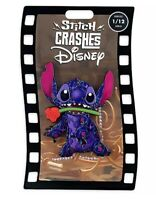 DISNEY STITCH Crashes Pin Beauty and the Beast Limited Release 1/12 *CONFIRMED*