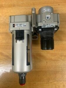 NEW SMC AF40-N04D-Z and AR40-N02-Z Compressed Air Pneumatic Filter