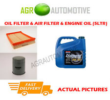 Gas oil air filter kit + huile 0W40 pour vauxhall combo 1.6 97 bhp 2005-12