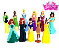 PCS15CT Disneys Princess Cake Toppers 1 Princess Bracelet & Set Of 11 Figures