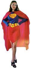 Super Hero Costume Adult Dress Woman Party Fancy Dress Wonder Supergirl Outfit