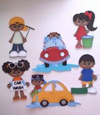 3D UPick 6 Play Birthday Baby Carnival Car Scrapbook Card Embellishment