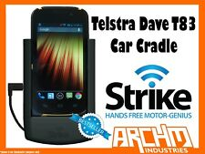 STRIKE ALPHA TELSTRA DAVE T83 CAR CRADLE - BUILT-IN FAST CHARGER SECURE HOLD