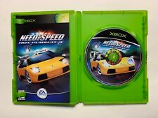 Need For Speed Hot Pursuit 2 NFS Complete CIB Microsoft Xbox Game Tested