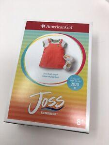 American Girl Doll Joss Julie Beach Jumper Shoes Shirt Complete Set NEW NIB