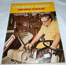 Tractor Service Manual Volume 2 Compact Tractors 1975
