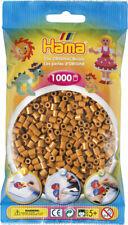Hama 1000 Midi Bügelperlen 207-21 Hellbraun Ø 5 mm Perlen Steckperlen Beads