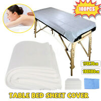 100x Disposable Toweling Hygiene Beauty Salon Couch Table Bed Pads Cover Massage