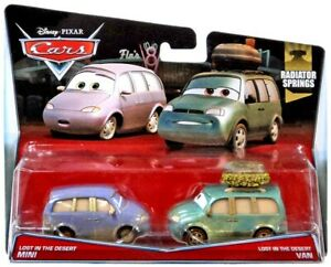 Disney / Pixar Cars Radiator Springs Diecast Car 2-Pack #16/19 & 17/19