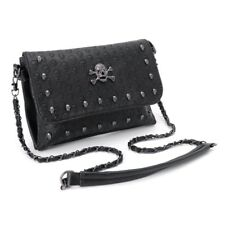 Gothic Skull Women Handbag Rivet Bags Chain Messenger Crossbody Shoulder Bag