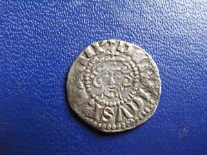 Henry III Silver Voided Long Cross Penny, Class 3c London 1216-47