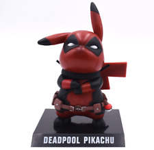 Deadpool Action Figure Pikachu Cosplay Collectible Model Toy 15cm Superhero