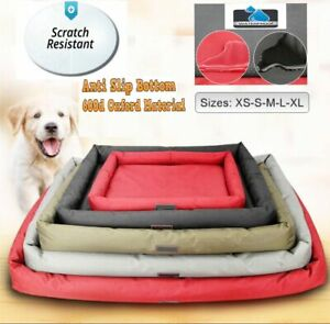 Premium Washable Anti Slip/Scratch Water Proof Dog & Cat Pet Bed L:100x60x8cm