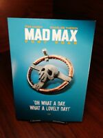 Mad Max:Fury Road(DVD)Warner Bros Iconic Moments Collector Edition Slipcover-NEW