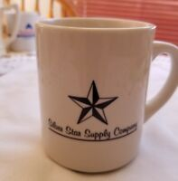 Vintage  Collectible Advertisement Mug Lone Star Supply Company, Amarillo, TX
