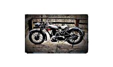 1944 Norton 16H Wd Bike Motorcycle A4 Photo Poster