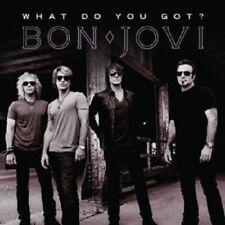 "BON JOVI ""WHAT DO YOU GOT"" CD 2 TRACK SINGLE NEW"