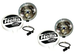 LAND ROVER ALL MODELS HELLA RALLEY 1000 LONG RANGE DRIVING LAMP SET OF 2 STC7644