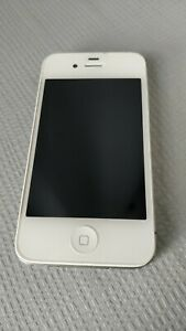 Apple iPhone 4s - 8GB - White (Unlocked) A1387 AND Dock Included