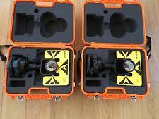 Seco Prism Dual Traverse  Set with Tribrachs for Trimble,Topcon, Sokkia