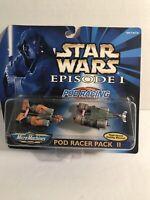1998 Pod Racer Pack II Episode I Star Wars Micro Machines Sebulba & Holdfast NIP