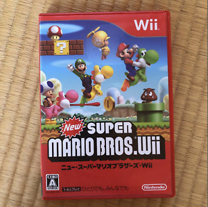 Nintendo New Super Mario Bros Wii 2009 Limited Japanese Games Luigi Pinocchio