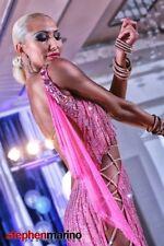 latin ballroom competition Anna Kovalova Dress Dance Costume Salsa Rumba Showgir