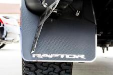 2010-2014 Ford Raptor - Raptor Style Carbon Fiber FRONT and REAR Mud Guards