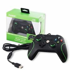 New Wired USB Game Controller For Xbox ONE One S X Console Black / PC Windows