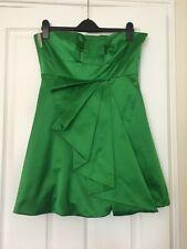KAREN MILLEN, Women dress, size 14, colour green, party.