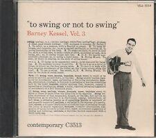 Barney Kessel cd Vol. 3, To Swing Or Not To Swing JAPAN VDJ-1554 1986 MINT 12tk