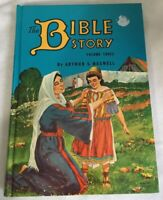 The Bible Story Book by Arthur S. Maxwell Volume 3 THreee Hardcover 1954 Vintage