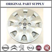 "Nissan Genuine Micra K12 Car 14"" Wheel Trim Hub Cap Cover - Silver 40315AX600"