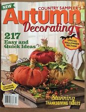 Country Sampler's Autumn Decorating Ideas Halloween Spec 2015 FREE SHIPPING!