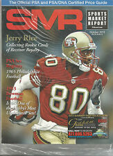 SPORTS MARKET REPORT, PSA PRICE GUIDE, October 2013 - Jerry Rice
