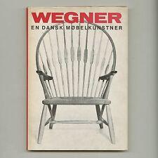 1965 Johan Nielsen HANS WEGNER EN DANSK MØBELKUNSTLER Danish Modern Design Book