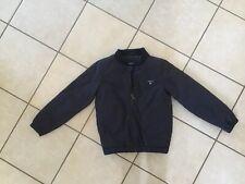 Boys Gant Navy Bomber Style Jacket Size 7-8yrs