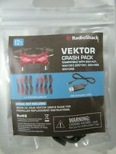 Vektor Drone Crash Pack 6001431 A & B Propellers USB Charging Cable Radio Shack