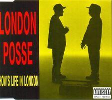 LONDON POSSE - How's life in London 4TR CDM 1993 HIP HOP