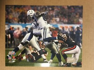 Joseph Adai Super Bowl XLI Glossy 8 X 10 Photo Indianapolis Colts