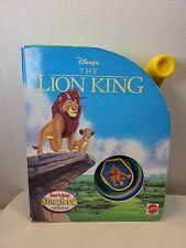 Vintage 1994 Mattel Lion King See 'n Say Storybook Talking Book - Working BB6