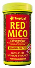 8g/100ml Tropical RED MICO freeze dried bloodworm food for freshwater fish